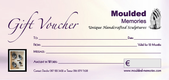 Moulded Memory Voucher